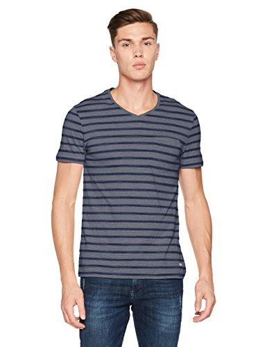 BOSS Orange Herren T-Shirt Blau (Dark Blue 404)