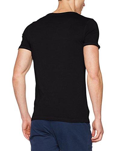 BOSS Orange Herren T-Shirt Trace Schwarz (Black 001)
