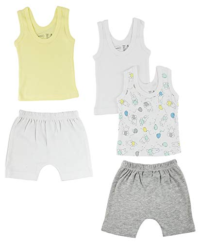 Bambini Girls Tank Tops and Shorts - Newborn Bambini-tank-top