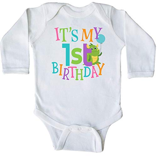 Huahai Cute First Birthday Monster 1 Year Old Long Sleeve Creeper - 1. Christmas Infant Creeper