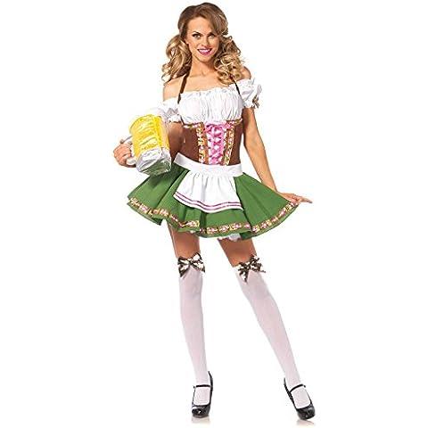 Leg Avenue - Disfraz de folklore para mujer, talla S (8331101209)