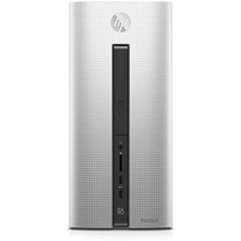 HP Pavilion 550 149ng - ordenador de sobremesa (Intel Core i5 6400, 12 GB RAM, 1 TB HDD, Nvidia GTX 745, Win 10