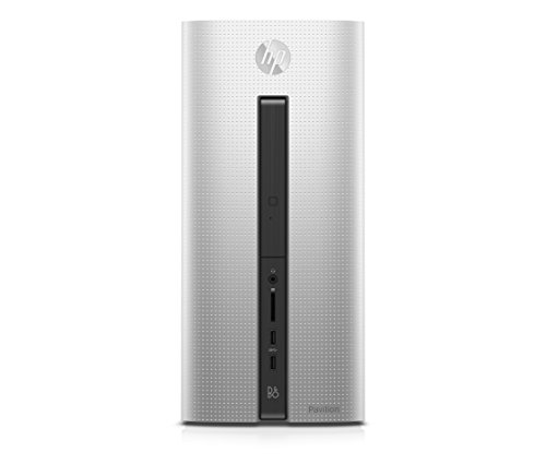 Foto HP Pavilion 550-350nl Desktop, Processore AMD Quad-Core A10-8750, RAM 8 GB,...