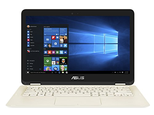 Asus UX360CA-C4150T 13.3-inch Laptop (Core m3-7Y30/4GB/128GB/Windows 10/Integrated Graphics), Gold image
