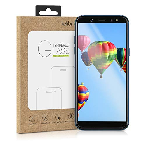 kalibri-Samsung-Galaxy-A6-2018-Folie-3D-Glas-Handy-Schutzfolie-fr-Samsung-Galaxy-A6-2018-Auch-fr-gewlbtes-Display