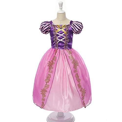 Muababy niñas Rapunzel Dress Up Kids Snow White Princess Disfraz niños Cenicien
