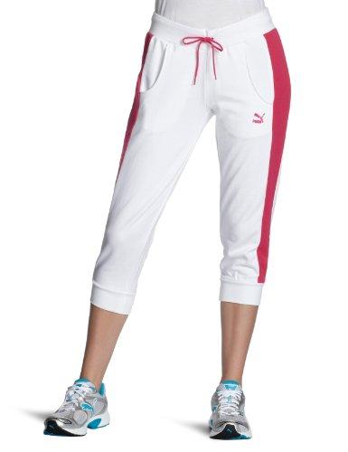 Puma Pantalon 3/4pour Femme Heroes Blanc - Blanc