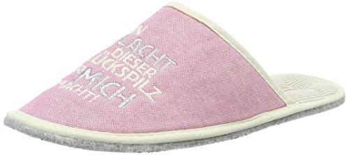 AdelheidGlückspilz Stoffpantoffel - Pantofole Donna Pink (hellrosa)