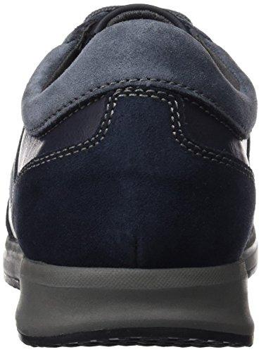 Geox U Avery A, Zapatillas Bajas Atléticas Para Hombres Blau (navyc4002)