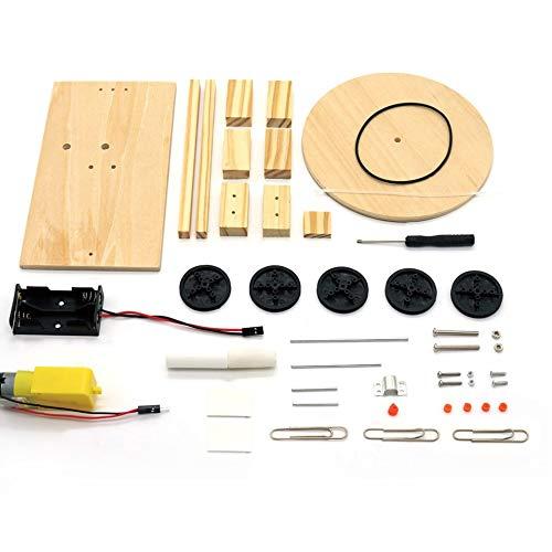 DIY Elektrischer Plotter Zeichnung Roboter Kit Physik Wissenschaftliches Experiment Kreative Erfindungen Montieren Modell Spielzeug für Kinder