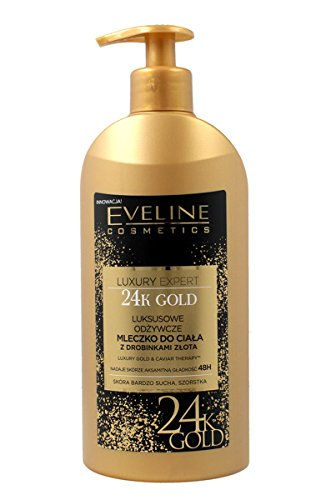 EVELINE LUXURY Gold & Kaviar Körperbalsam mit 24k Goldstaub 350ml
