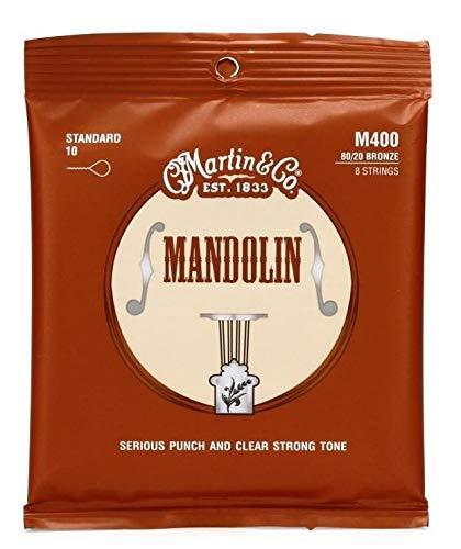 Martin Mandolinensaiten (80/20, Bronzeumwicklung, Stärke Standard 0.010 - 0.034)