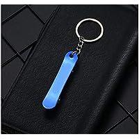 XDXDWEWERT Langlebig Supreme Skateboard Metall Auto Keychain Tide Marke Schlüsselanhänger Geschenk für Männer und Women_Blue