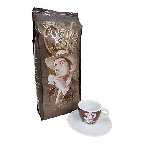 Lucaffe Espresso der Pate mit Espressotasse, 1000g ganze Bohne
