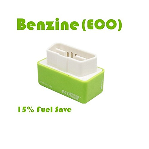 WE-WIN EcoOBD2 Plug and Drive Benzine Puce Tuning Box Fonction Réduction de la consommation de Carburant Auto Auto Optimisation du Carburant Vert