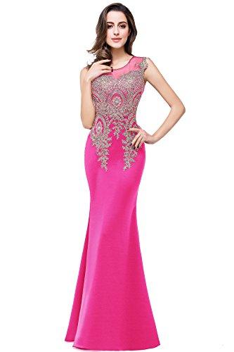 Hochzeitskleid Etui Meerjungfrau Figurbetont mit Träger Elegant Festlichen Kleid