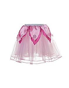 DREAMY DRESS-UPS 50441Rose/Rosa de Flores tutú Disfraz (Tamaño Mediano)