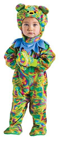 Horror-Shop Rainbow Bärchen Kleinkinder Faschings & Karnevals Kostüm - Kleinkind Rainbow Kostüm