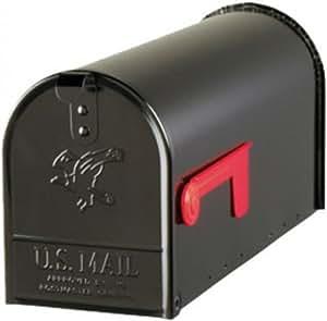 Original U.S. Mailbox - ELITE - Stahl - schwarz - Gr. T1 Art. E1100B00