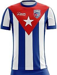 Airo Sportswear 2018-2019 Cuba Home Concept Football Soccer T-Shirt Camiseta