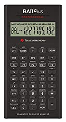 TEXAS PROFESSIONAL CALCULATOR BA II Plus Professional