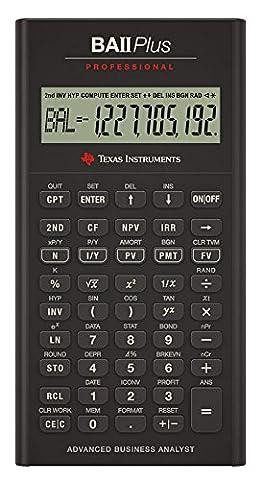 Texas Instruments BA II Plus Pro Calculatrice