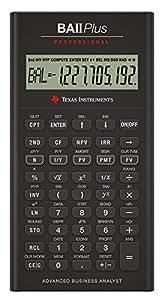 Texas Instruments BA II+ PRO  Calculator