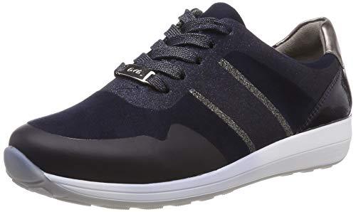 ARA Damen Osaka 1234589 Sneaker, Blau (Blau/Midnight, Iron/Titan 05), 35 EU