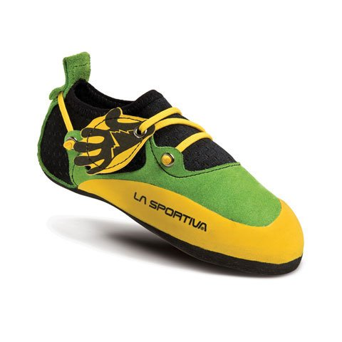 La Sportiva Stickit, Escalade unisex 32 Lime Junior