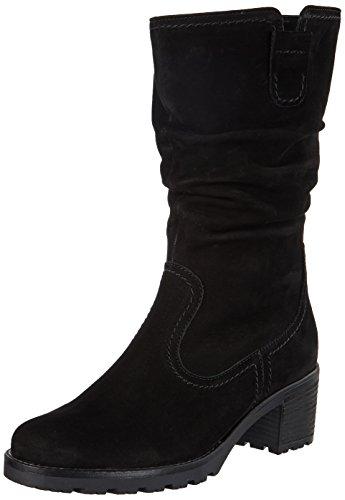 Gabor Shoes Damen Comfort Sport Stiefel, Schwarz (47 Schwarz (Mel.)), 37.5 EU