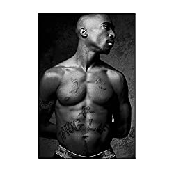 Karen Max 2PAC Tupac Only God Can Judge Me Decor Poster Ölgemälde Kunstwerke rahmenlose Geschenke 24x36inch Frameless