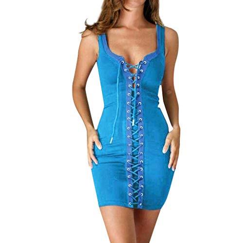 VEMOW Faldas Mujer Vestido Encaje Mujer Parte Club