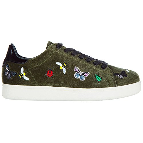 MOA Master of Arts Chaussures Baskets Sneakers Femme Vert
