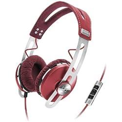Sennheiser - 505993 - Momentum On-Ear - Casque Audio Rouge
