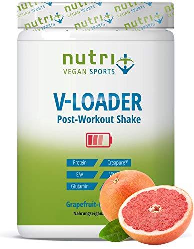 POST WORKOUT Shake V LOADER - Muskelaufbau und Bodybuilding - 750g Grapefruit Pulver - Maltodextrin - Protein-Pulver - BCAA - Creatin-Monohydrat - L-Glutamin - Vegan Supplement