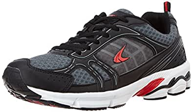 Performax Men's Black Mesh Running Shoes - 11 UK