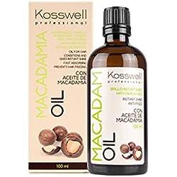 Kosswell - Aceite Capilar de Macadamia, 100 ml