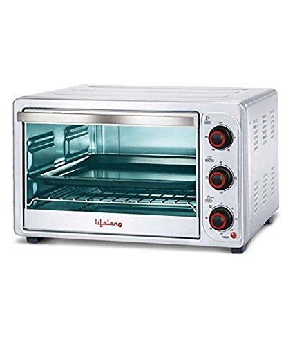 Lifelong Stainless Steel Oven Toaster Griller,26 Litre