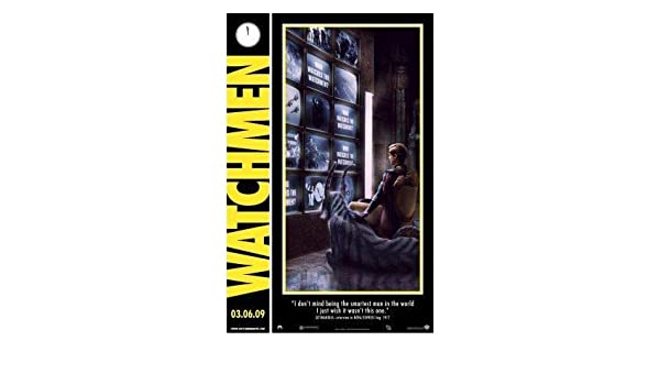 30.4 x 43.2cm Taille Affiche de Film DC Poster Station UK Watchmen Film Affiche Affiche Imprimer Image