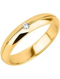 Little Treasures - 14 ct Yellow Gold Diamond Wedding Band