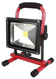 KS Tools 150.4384 Projecteur 20 W sur batterie lithium 7,4 V 8,8 Ah 1300 lumens
