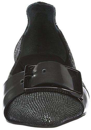 Zinda Damen 2681 Mokassin Grau (Grey)