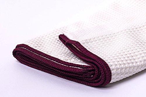 Deleo Dekanter und Weinglas Tuch, blanke Hygiene streifenfrei auch für Handy's