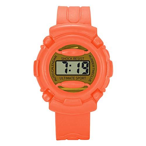 YULINGSTYLE Uhren Kinder Mädchen Analog Digital Sport LED Elektronische wasserdichte Armbanduhr NeuDie Uhr Elektronische Kinderuhr