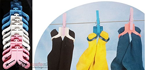 new-coloured-10-sock-sorters-pegs-holders-drying-laundry-clips-dryer-washing-line