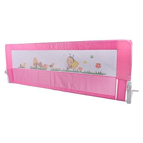 Yosoo 180cm Barandilla de La Cama Guardia de Seguridad para niños, Barandilla Plegable de La Cama infantil