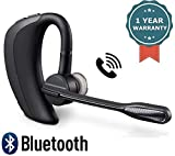 RAMBOT Bluetooth Headset, 9Hrs Talk Time V4.1 Hand Free Wireless Earpiece with Mute
