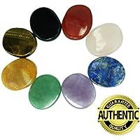 Chakra Steine 8PCS KIT, ovale Form, für Crystal Healing Meditation, Reiki oder als Handschmeichler oder Palm... preisvergleich bei billige-tabletten.eu