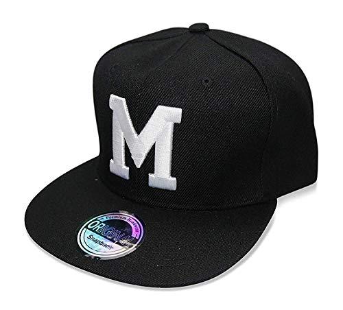 Snapback Cap Black & White (M) ()