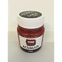 Titan Chalk Paint - Pintura efecto tiza 806 Rojo Inglés 100 ml